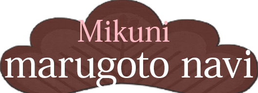 Mikuni marugoto navi (General guide for sightseeing in Mikuni)